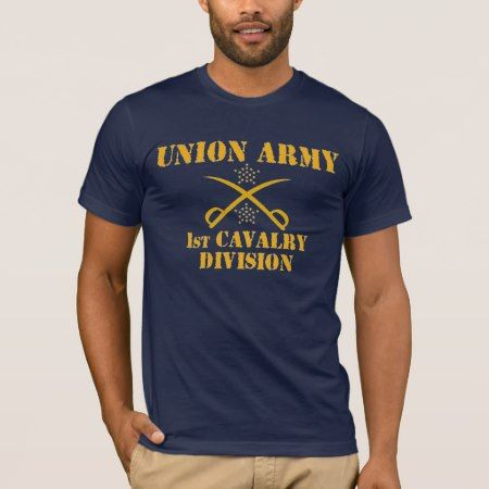 1st Cavalry Division, Union Army Civil War Shirt - tap, personalize, buy right now!