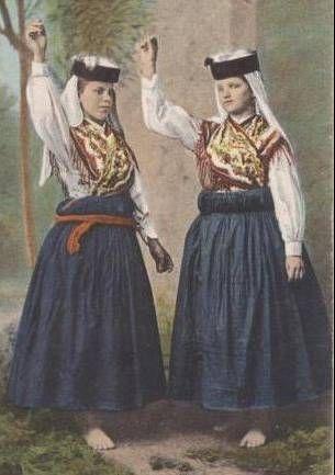 trajes regionais portugueses