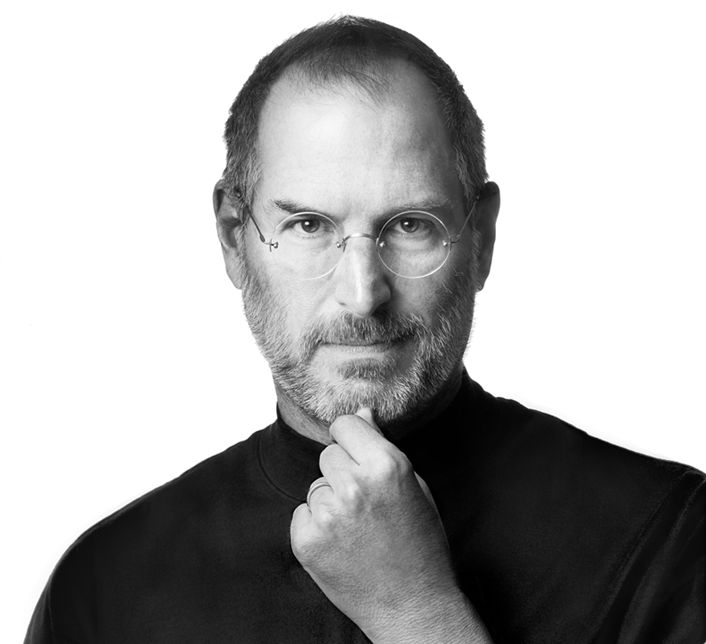 "Steve Jobs. ""The ones who are crazy enough to think that they can change the world, are the ones who do."""