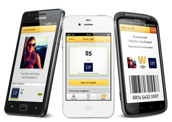 Eric Zomer (@zomerinhuis) op Twitter:  Deze week start Wrapp: social gifting service. Goede app met koppeling Facebook. Kijk op https://www.wrapp.com/nl/  Enjoy! pic.twitter.com/XLiFaHx7