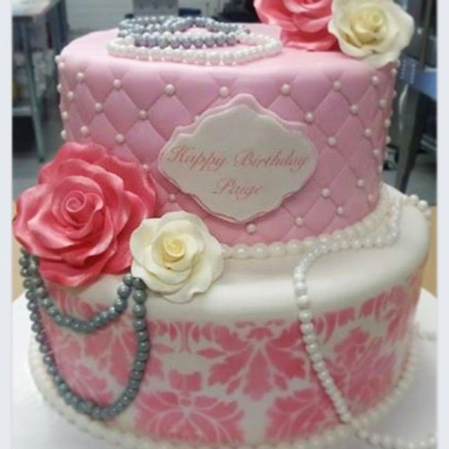 Pretty in Pink! #birthdaycake #gtacakes #simplysweets #specialtycakes #prettyinpink