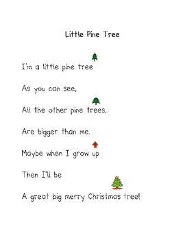 kindergarten Christmas poems | Christmas Poems - Darlene Johnson - TeachersPayTeachers.com
