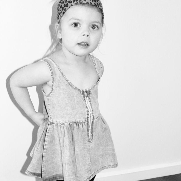 Chambray dress#kidsfashion#summerfashion#littlemilk