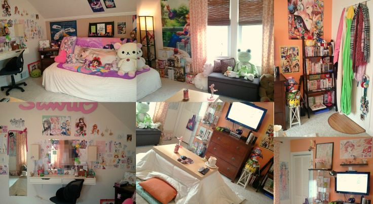 17 best images about anime bedrooms on pinterest pikachu for Anime bedroom ideas