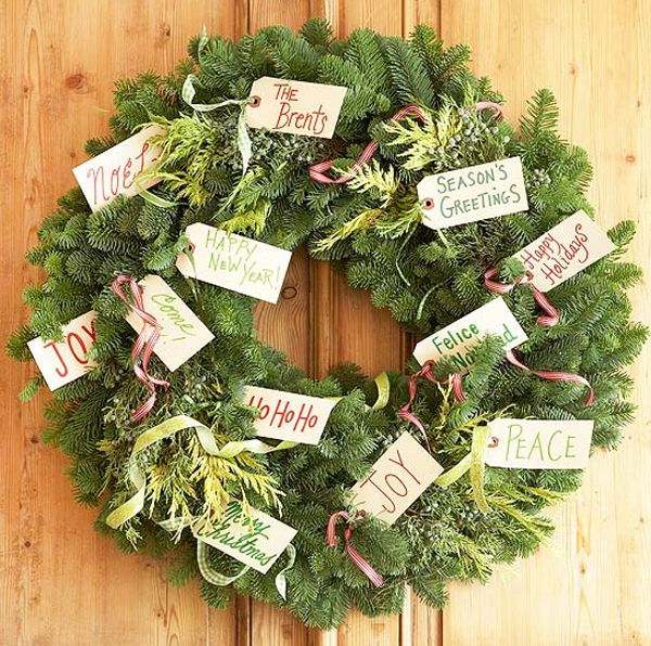 20 Fresh and Colorful Christmas Wreath for Door Decorations