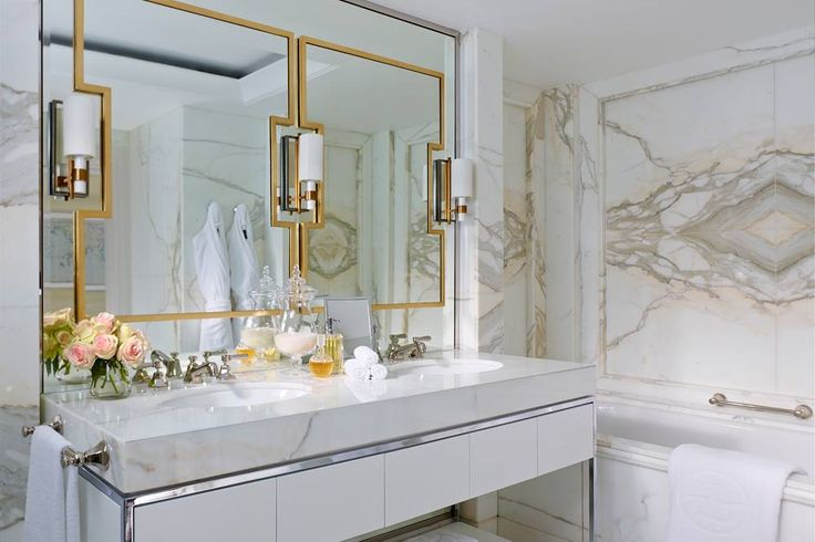 Marble and Gold! Pure luxury..Langham Hotel Sydney