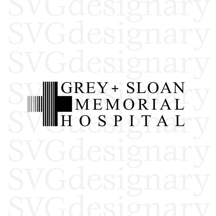 Grey's Anatomy TV Show- Grey Sloan Memorial Hospital Black