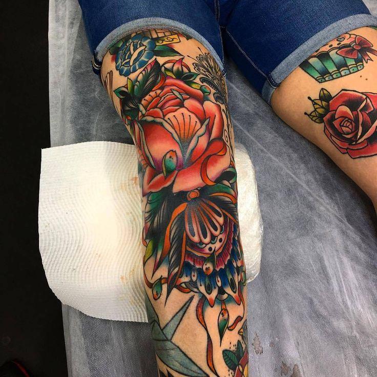 "7,140 Likes, 25 Comments - Traditional Tattoo (@traditionalartist) on Instagram: ""#tattoo by @kirk_jones_tattoo ... ... ... #traditional #traditionaltattoo #traditionalartist…"""