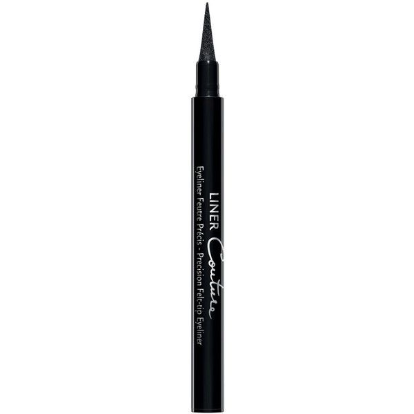 Givenchy Liner Couture Precision Felt-Tip Eyeliner found on Polyvore featuring beauty products, makeup, eye makeup, eyeliner, black eye liner, black eye makeup, givenchy, black eyeliner and kohl eyeliner