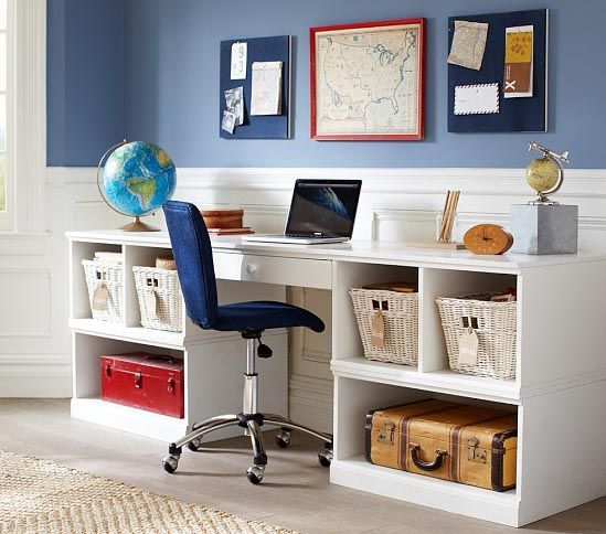 Organizing a Study Space in Your Child's Room www.addspacetoyourlife.com