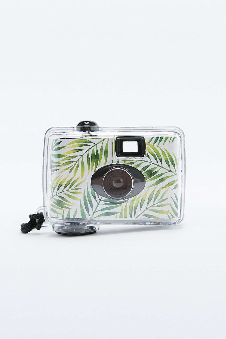 Underwater Disposable Camera - 20€  Single use camera built for underwater photography and topped with a funky print lets you experience the fun and unpredictability of analogue photography.  THINGS TO KNOW: - Mixed materials - Wipe clean - 17 exposures - Single use only  FREE DELIVERY WHEN YOU SPEND €100