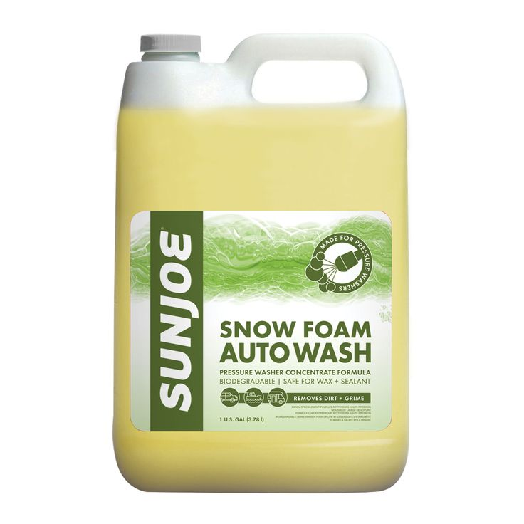 Sun Joe Premium Snow Foam Cannon Pineapple Pressure Washer Rated Car Wash Soap and Cleaner, 1-Gallon (Pineapple), Yellow #SPX-FCS1G