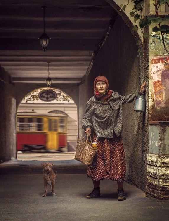 Аннушка. Фото-проект «Мастер и Маргарита»