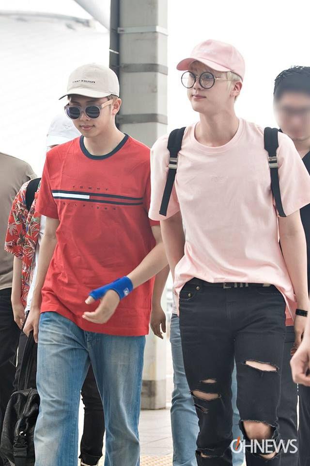 appa Namjoon and omma jin <3