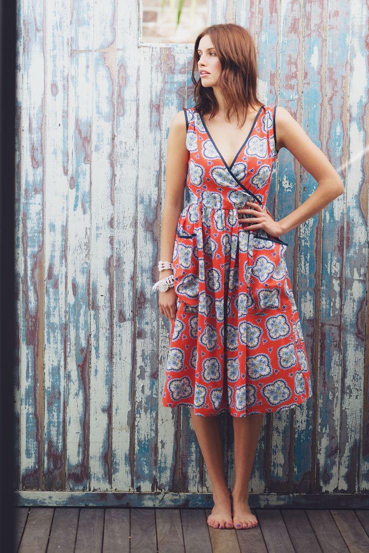 Lara dress in Aloha