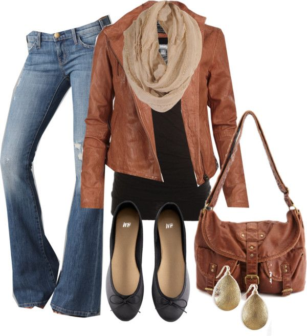 Casual style. An outfit for a day of shopping. Especially love the jacket.