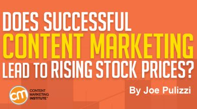 Does Successful Content Marketing Lead to Rising Stock Prices?