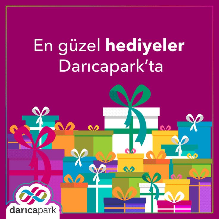 Sevdiklerinize alabileceğiniz en güzel hediyeler #DarıcaParkAVM 'de.