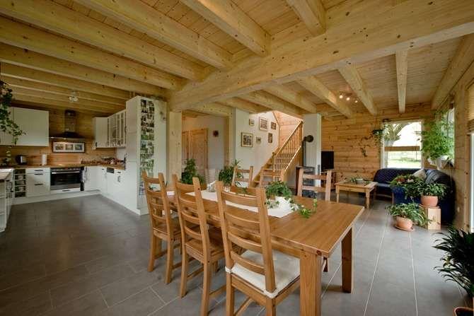 Interieur In Weis Und Marmor Blockhaus Bilder. 328 best images ...