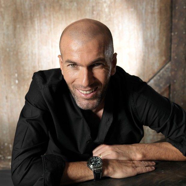 Zidane � capa da terceira edi��o da GQ Style