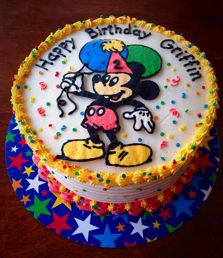Mickey Mouse Smash Cakes Buttercream: 17 Best Images About My Own Buttercream Cakes On Pinterest