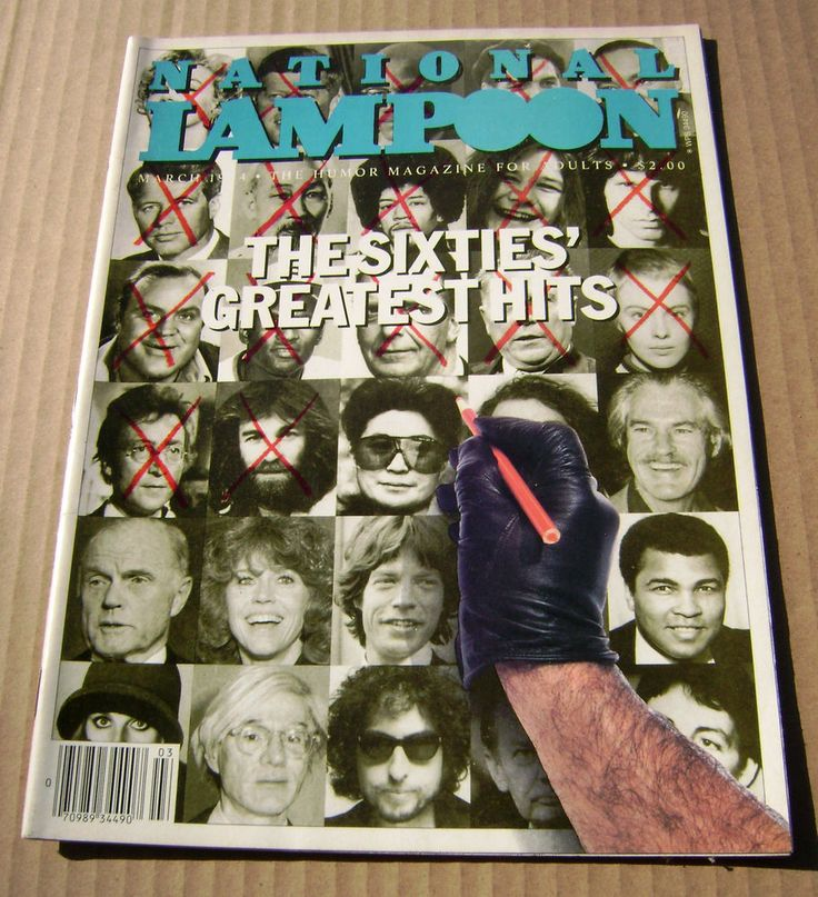 March 1984 National Lampoon Magazine 3/84 - The Sixties Greatest Hits Bob Dylan