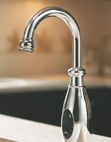 Touchless Faucets : Touchless faucet. future dream house. Pinterest