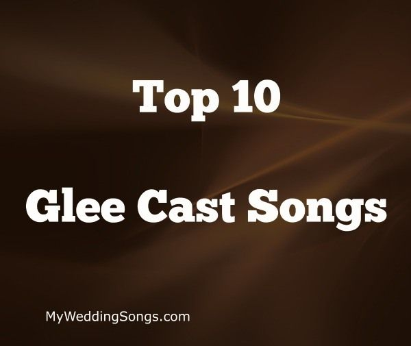 Many of TV Glee's songs made it onto the Billboard Hot 100 music charts. See below for the Top 10 Glee songs as made popular by the Glee cast members.