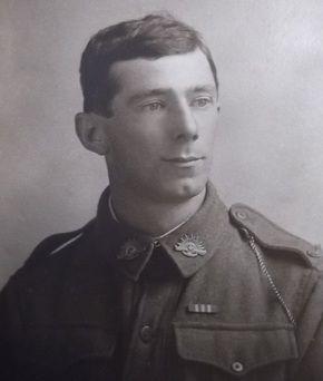 Louis David Warneke McNamara - the real Louis on whom the character Louis Flynn was based. Louis McNamara was my great-uncle. He died fighting on the Western Front in France in 1918.