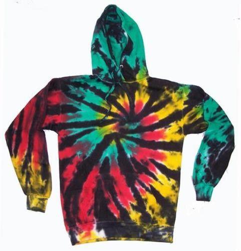 Mystery Unisex Tie Dye Hoodies, All Colors & Styles