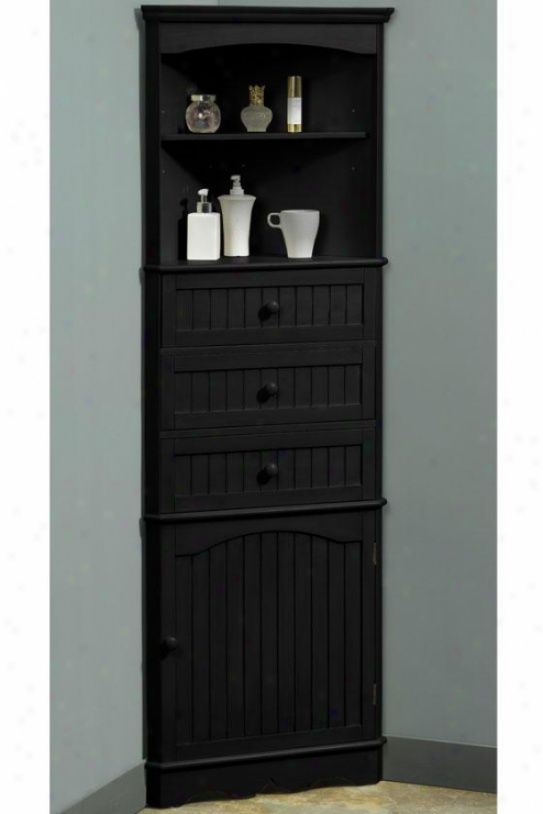 One door corner cloth of flax cabinet for the home pinterest bathroom cabinets cabinets Bathroom corner cabinet storage