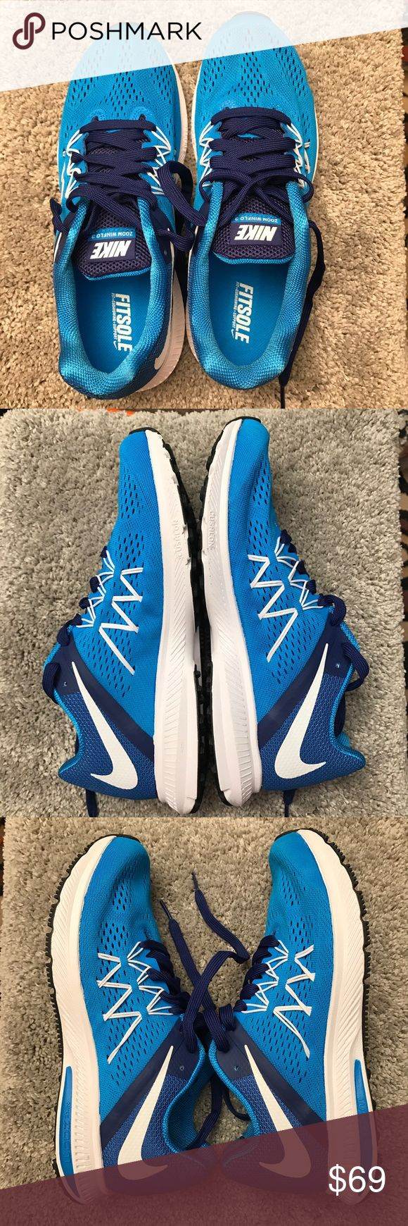 Nike Zoom Winflo 3 Shoes Nike Zoom Winflo 3 shoes. Brand new. Never worn. Size 8.5 Nike Shoes Athletic Shoes