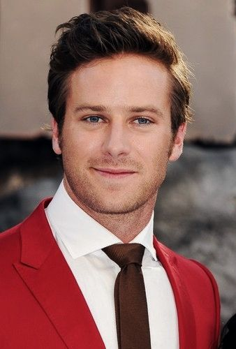 Armie Hammer has the hottest voice and is the sweetest guy ever!!!!!!! His wife is lucky...