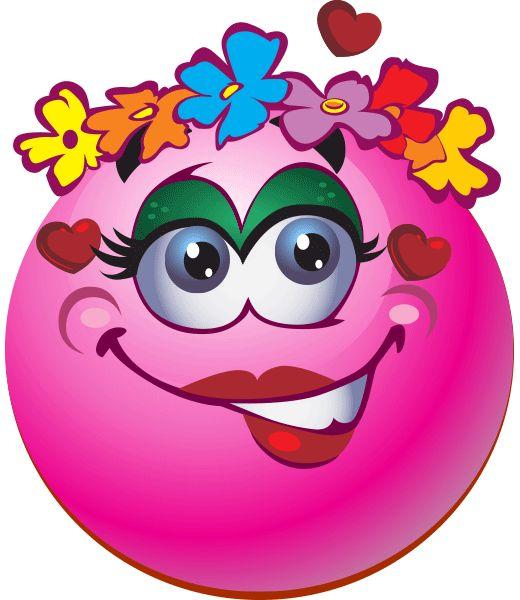 Flowery Smiley
