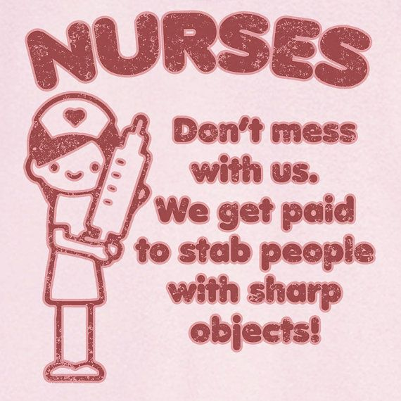 Don't Mess With Nurses Novelty T Shirt Z11994 by RogueAttire, $18.99