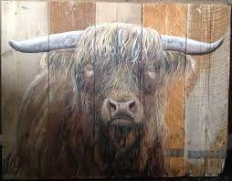17 best images about schilderijen on pinterest cow search and kunst - Entree schilderij ...