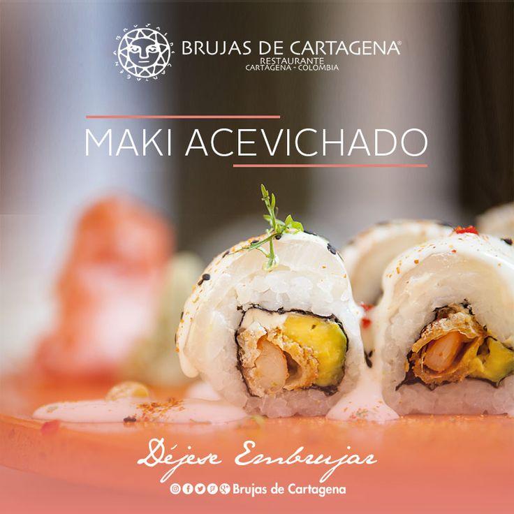 Maki Acevichado, Nikkei en Brujas de Cartagena Cartagena, Colombia