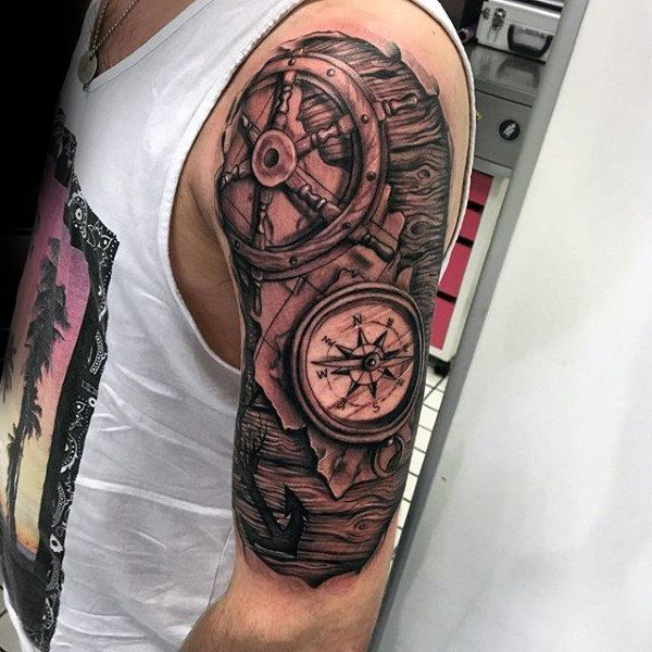 Tattoo Ideas Nautical: 25+ Best Ideas About Nautical Themed Tattoos On Pinterest