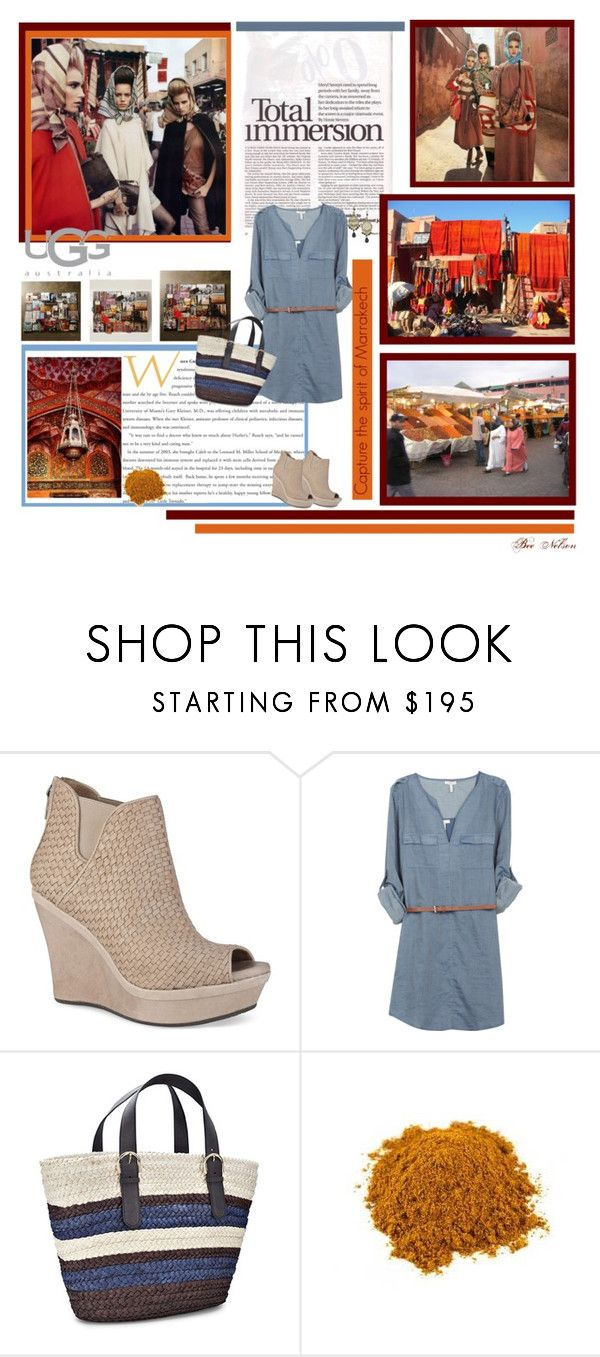 """""""Meet Me in Marrakech with UGG Australia"""" by breenelson-style ❤ liked on Polyvore featuring UGG Australia and Joie"""