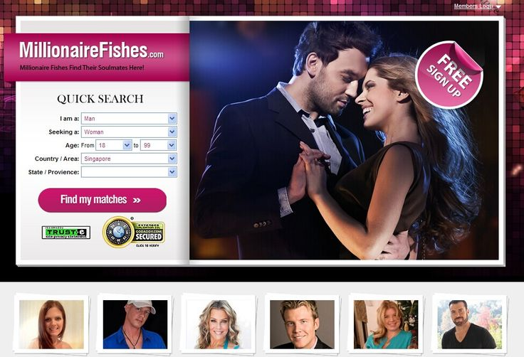 Free online dating sites millionaires