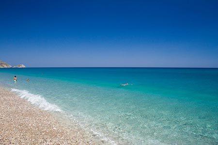 Afandou Beach, Rhodes, Greece