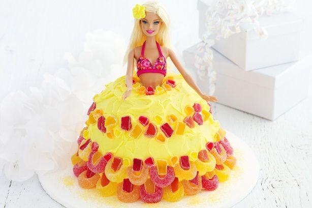 Hawaiian hula girl cake main image