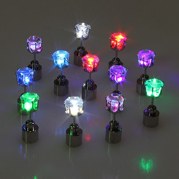 led stud earring