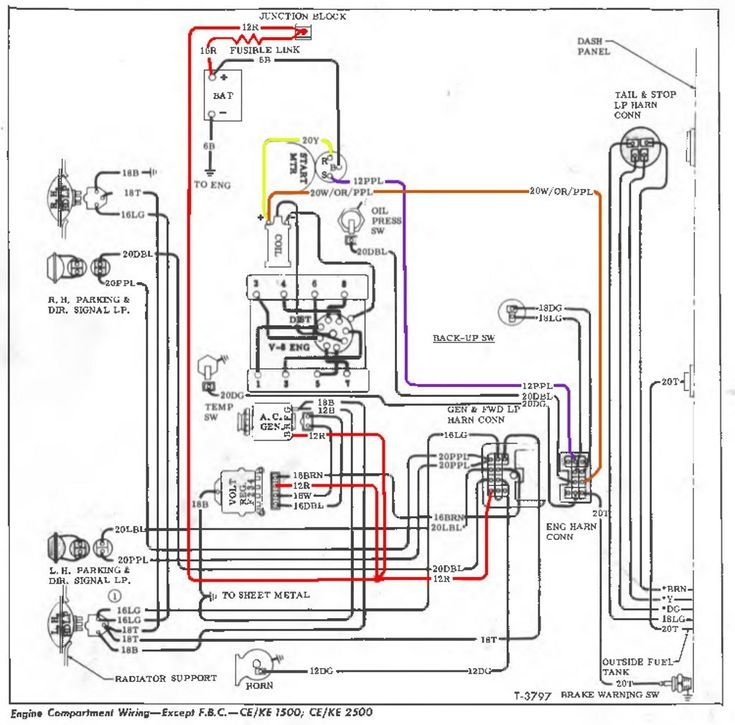 1967 At 1972 Chevy Truck Wiring Diagram Facybulka Me