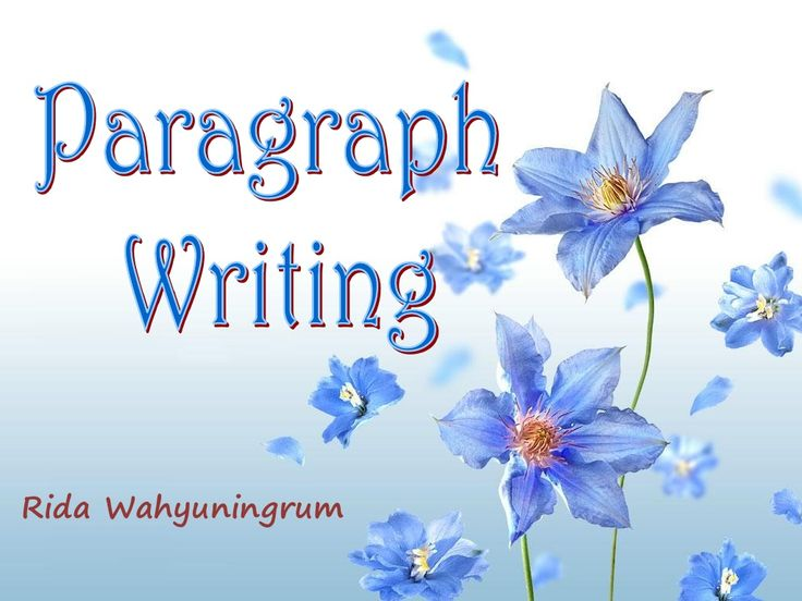 Paragraph Writing by 08041967 via slideshare..Great examples of HOW to write good topic sentences and develop ideas for the paragraph and write a STRONG concluding sentence.  slideshare.com  FREE RESOURCE!  Use or create your own ppts