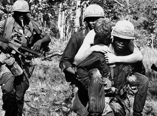 Vietnam casualties mount in a losing effort.