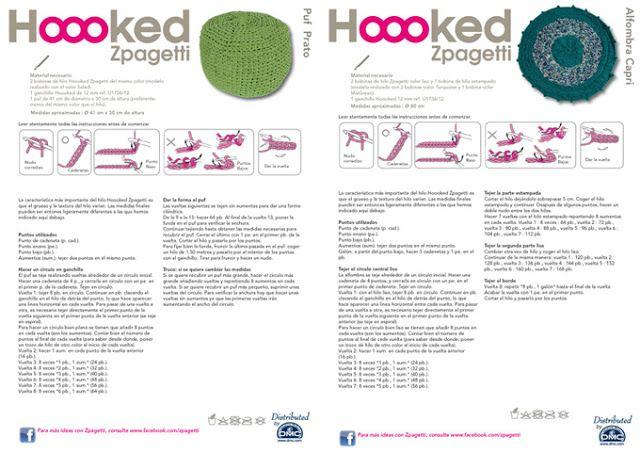 Nuevos kits ganchillo XL con Hoooked Zpagetti