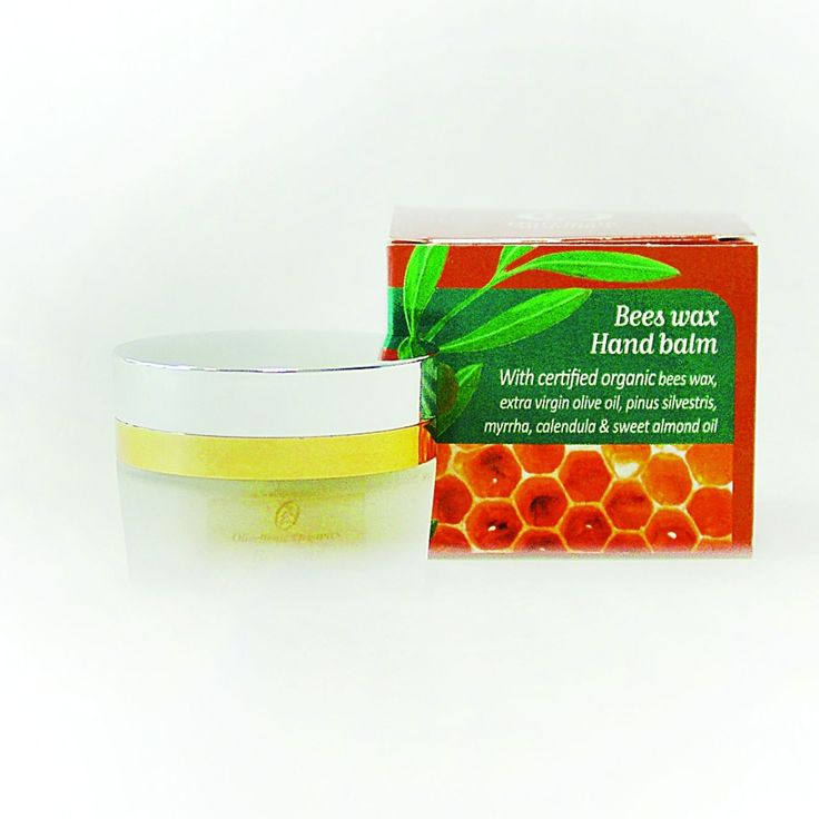 Bees Wax Hand Balm by  Olivellenic organic
