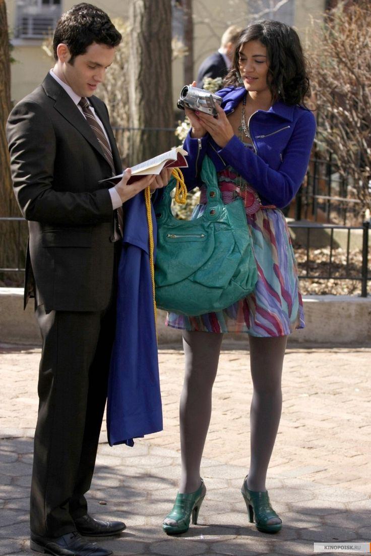 "Penn Badgley as Dan Humphrey and Jessica Szohr as Vanessa Abrams ""The Goodbye Gossip Girl"""