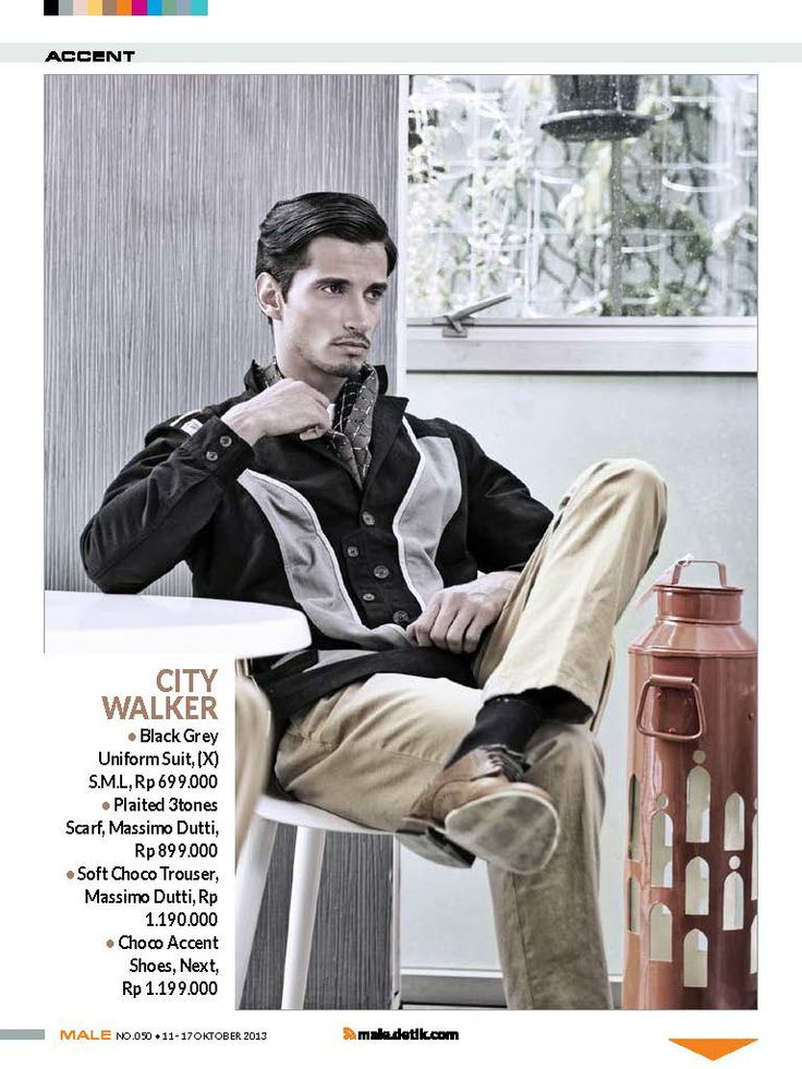 (X)S.M.L Black Grey Uniform Suit is  appeared on Male - September 2013